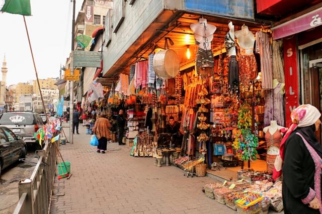 v uliciach Ammánu