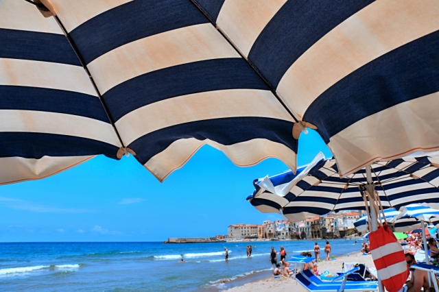 pláž v Cefalú